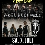 Axel Rudi Pell Tour 2018