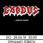 Exodus 2018 Tour