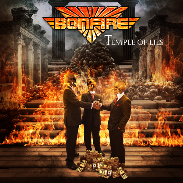 Bonfire - Temple Of Lies