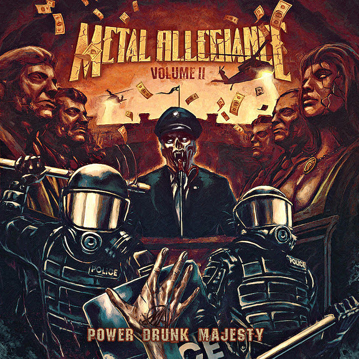 Metal Allegiance - Power Drunk Majesty