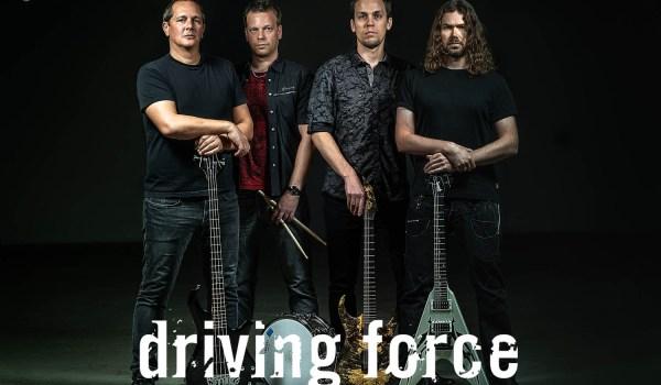 Driving Force mit dem dritten Album