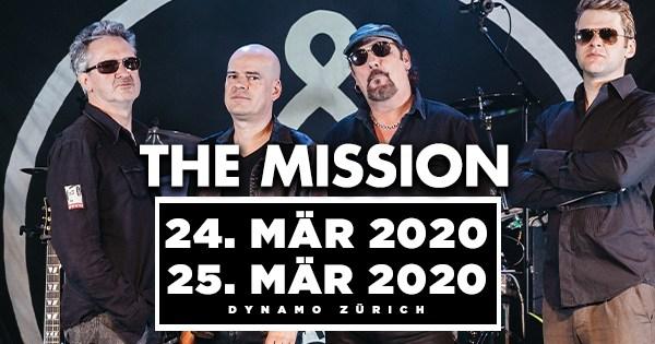 Zwei Shows von The Mission in der Schweiz!
