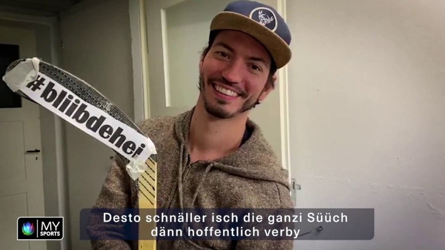 Thomas Rottmeier - Bliib dehei - MySport Corona Song