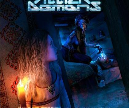 Attick Demons mit ihrem dritten Album