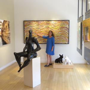 מתל אביב למיאמי: יצירות האמנות שלי ב-Blue Gallery