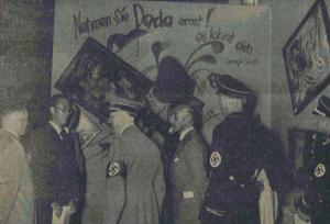 אמנות בשואה - היטלר בתערוכה של פול קליי