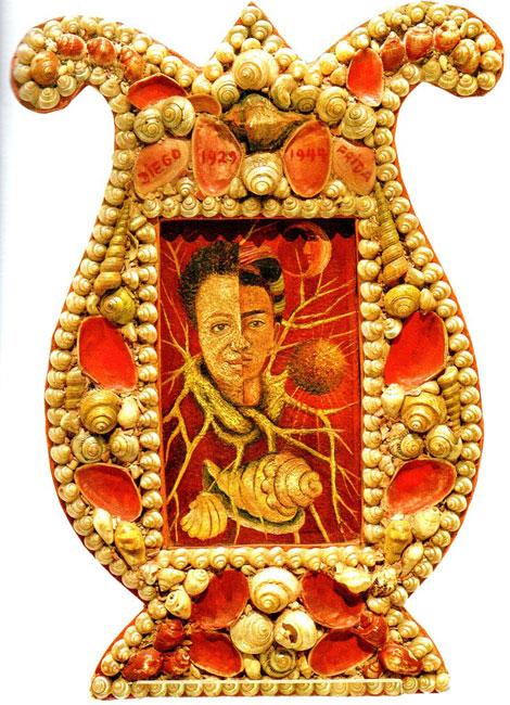 בלוג איריס עשת כהן מקסיקו – ציור של פרידה קאלו , Double Portrait, Diego et moi פרוטרט כפול דייאגו ופרידה 1944