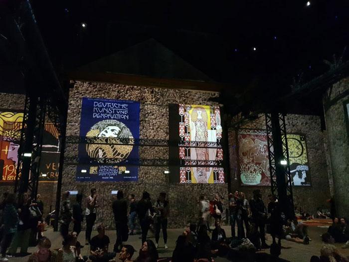 בלוג איריס עשת כהן קלימט בסדנת אורות בפריס