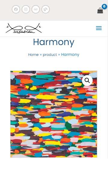 Harmony - Painting-of-iris-eshet-cohen