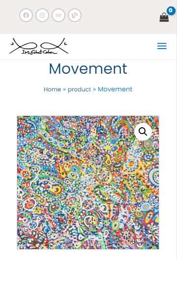 Movement - Painting-of-iris-eshet-cohen