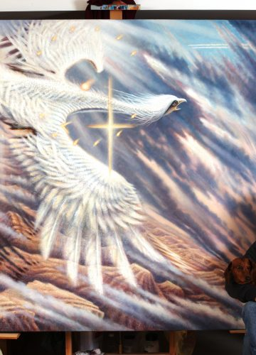 ציורים ממבט הציפור / יצחק ניר. צייר.