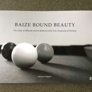Baize Bound Beauty front cover: a book by Micahel Higgins published by The Artel Press (2020)