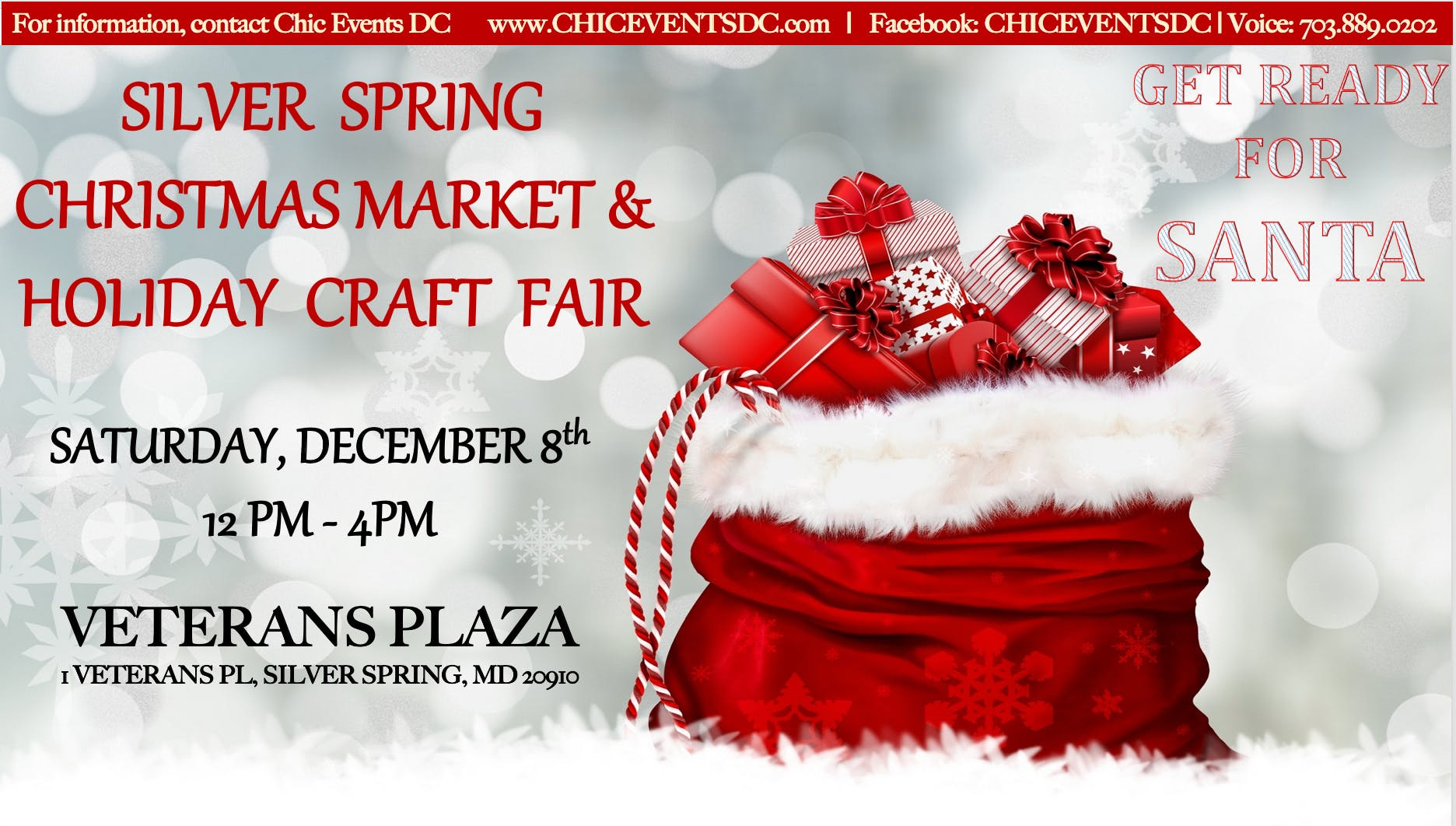Christmas Events Dc 2019.Silver Spring Christmas Market And Holiday Craft Fair The
