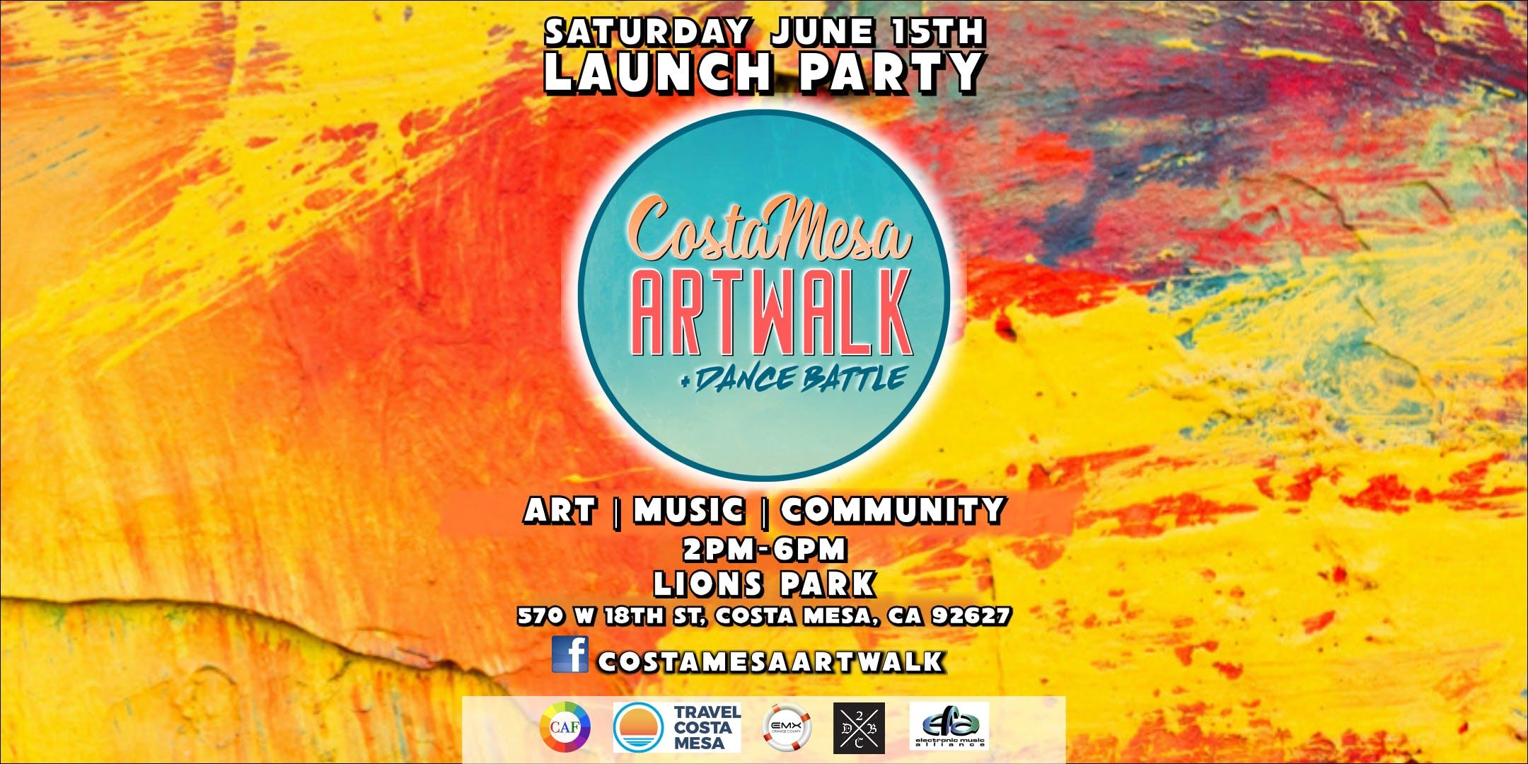 Costa Mesa ArtWalk + Dance Battle (3rd Saturdays) - The Art