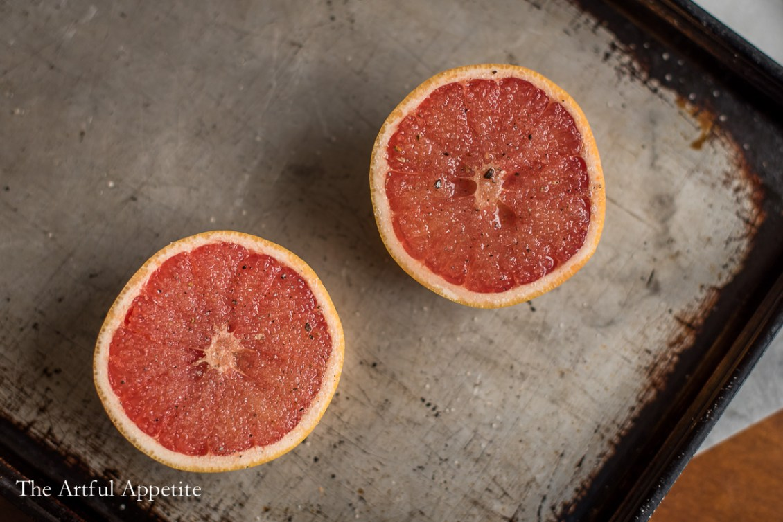 Cardamom Sugar Broiled Grapefruit The Artful Appetite Blog