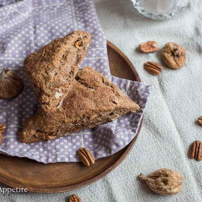 Fig Pecan Cinnamon Whole Wheat Scones The Artful Appetite