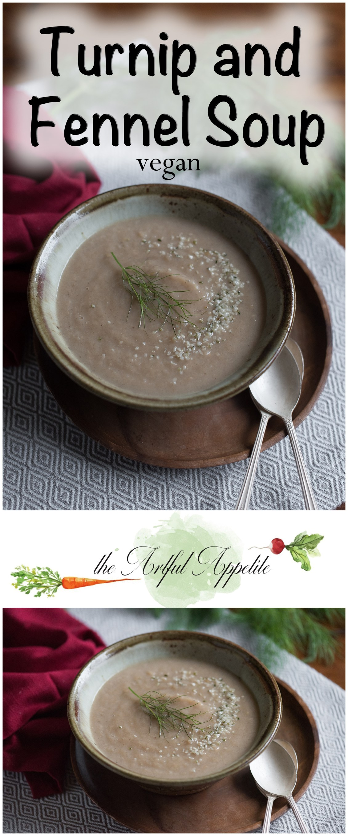 Whether you just want another cookbook or a whole lifestyle change, you want this book! The recipe for this turnip fennel soup is in the book! Vegan Weight Loss Manifesto | Cookbook Review and Turnip Fennel Soup