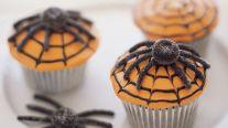 SpiderWebCupcakes