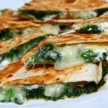 Spinach & Pesto Quesadillas