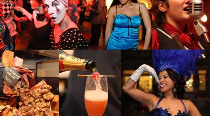 Going Bohemian at The French Spirits Soiree