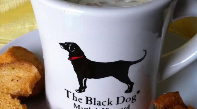 black dog tavern clam chowder