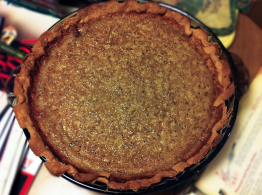 Brown Sugar Buttermilk Pie