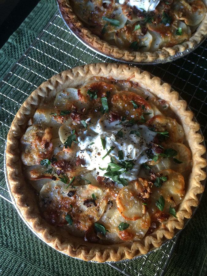 Potato, Bacon & Gruyere Pie2