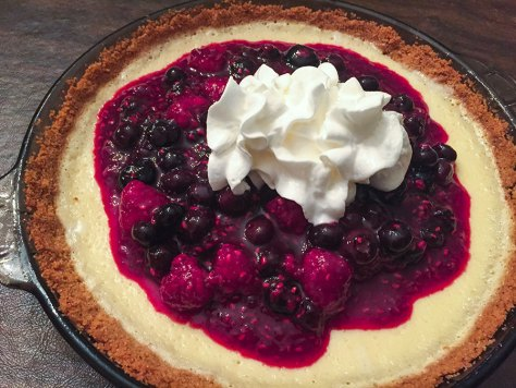 Lemon Blueberry Pie 3