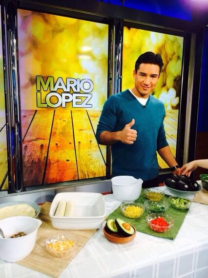 Mario Lopez & Avocados from Mexico