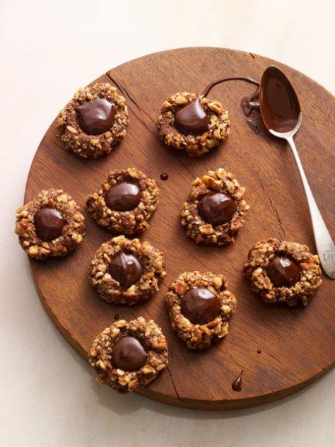 Chic Thumbprint Cookies