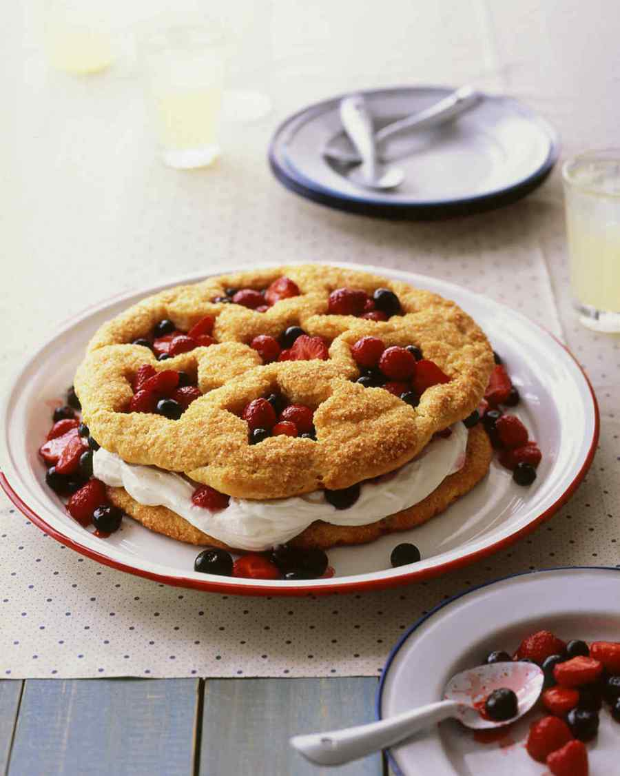 Summer Berry Shortcake