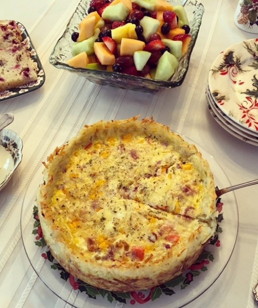 Holiday Brunch Quiche