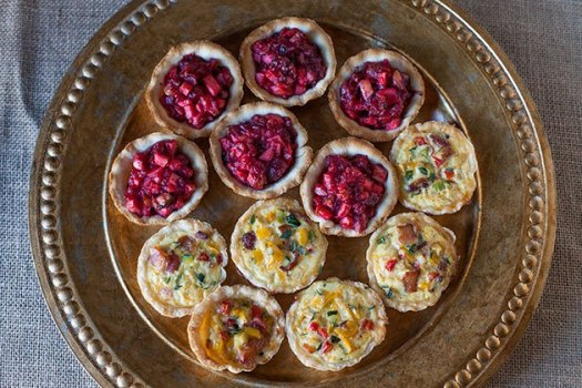 Mini Sweet and Savory Tarts