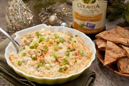Parmesan Garlic Artichoke Dip