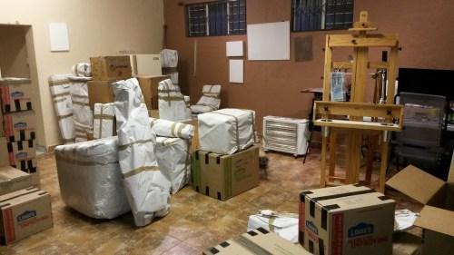 Studio w Boxes