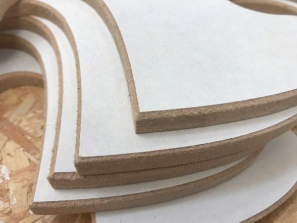 Puzzelstuk groot hout detail