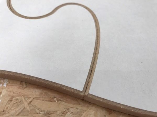 Puzzelstuk hout MDF acryl gieten 5