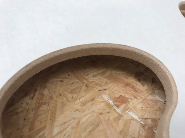 Puzzelstuk hout MDF acryl gieten