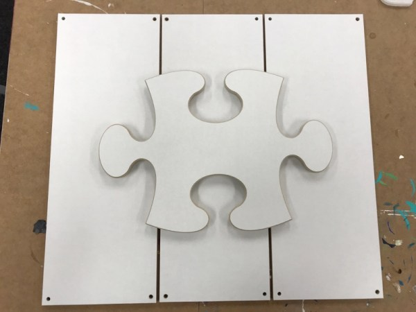 puzzel dieluik hout verticaal