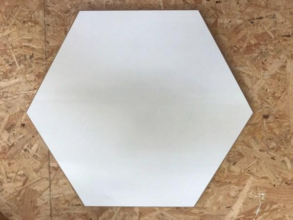 Hexagon hout groot
