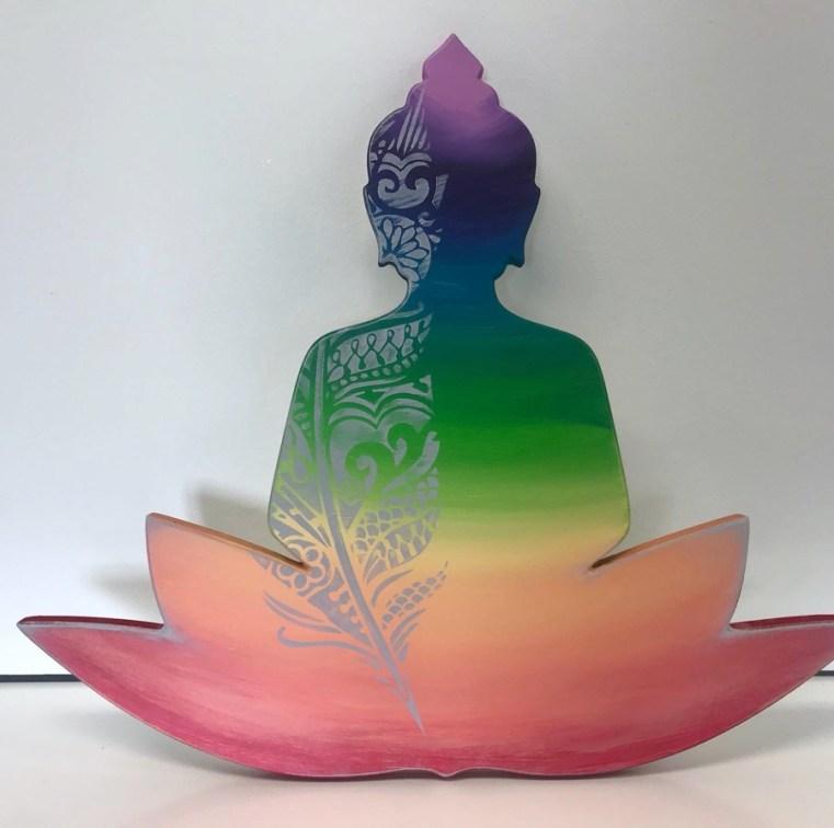 Workshop kleurrijke buddha