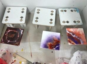 Workshop epoxy onderzetters