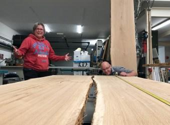 Cursus boomstam tafel maken