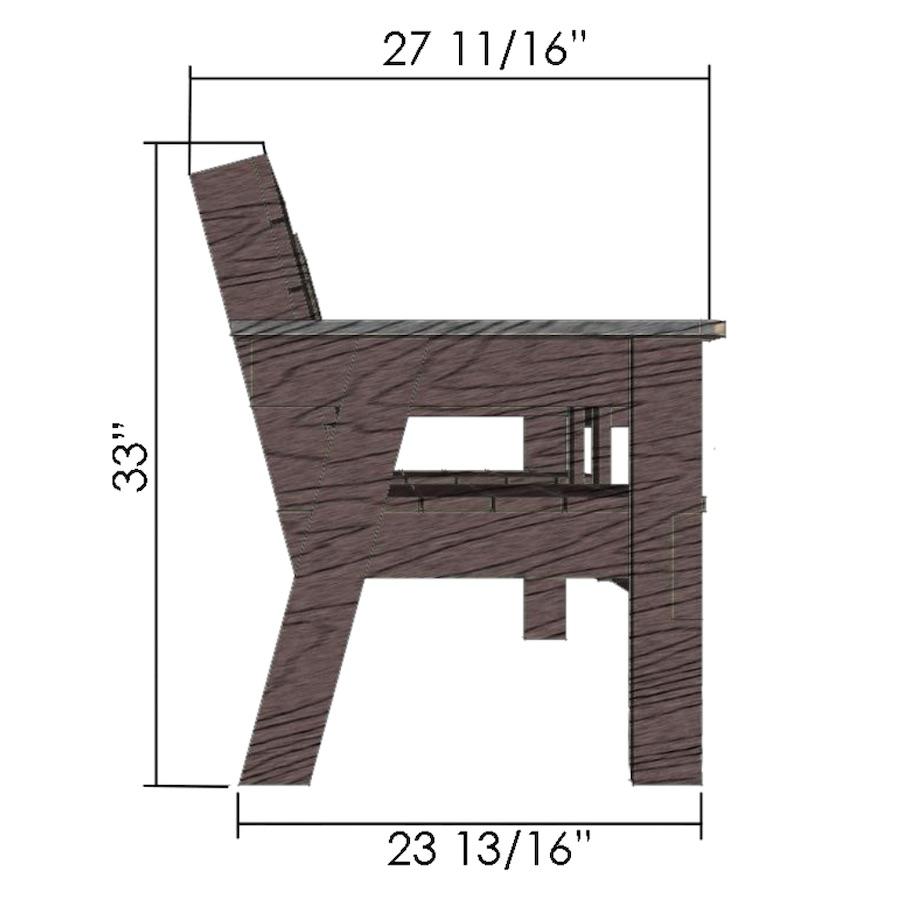 cursus meubelmaken tuinbankje duo_zk