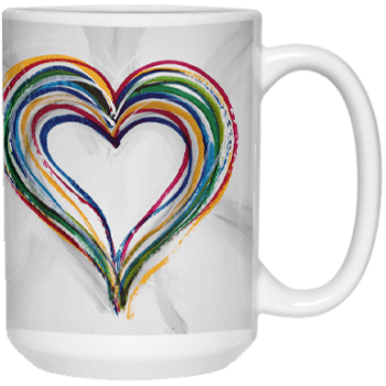 Find a way to Love 1 Mug by Suni Moon