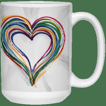 Find a way to Love 1 Mug by Suni Moon