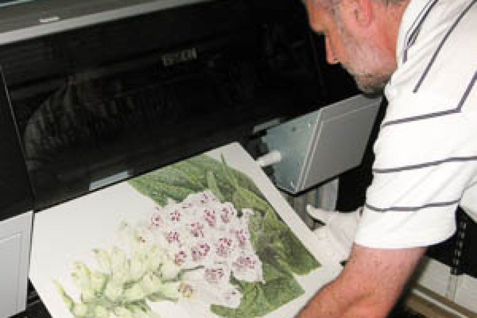 Fine Art Giclee Printing at the Artists Print Room