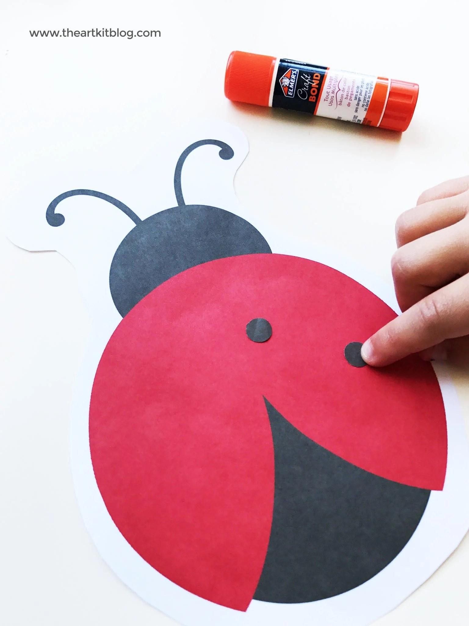 Ladybug Crafts For Toddlers Ladybug Craft Preschool The