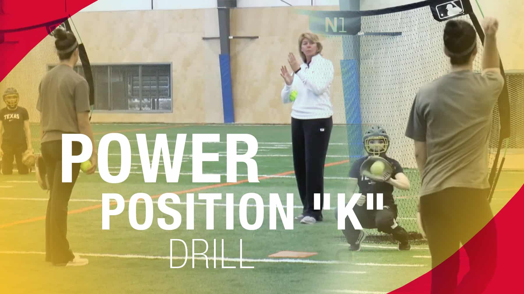 Pitching Power Position K Drill