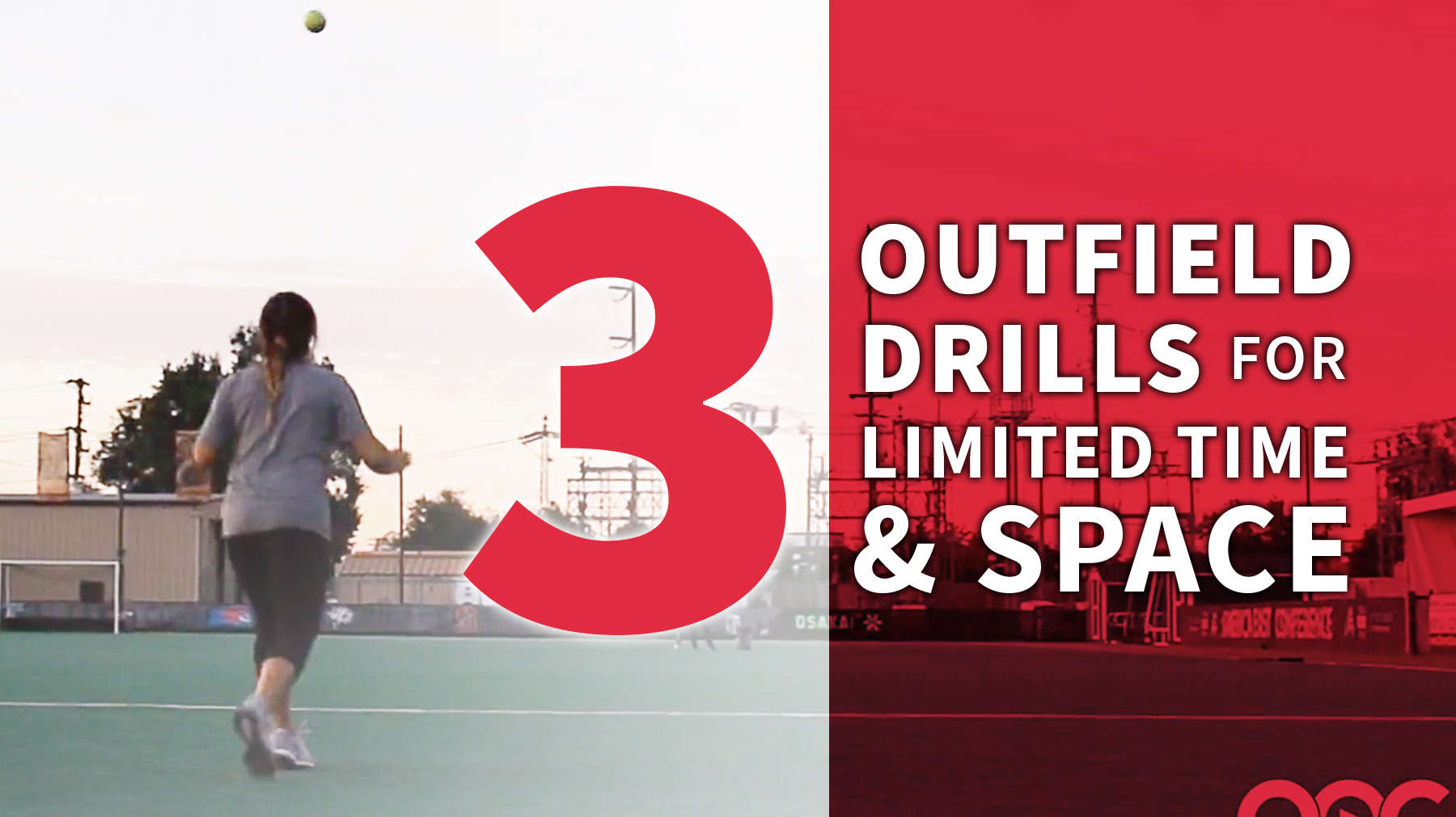 Fielding 3 Outfield Drills For Limited Time Amp Space